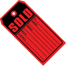 Sold Tags